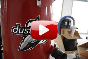 DustSharkz dust free tile removal equipment