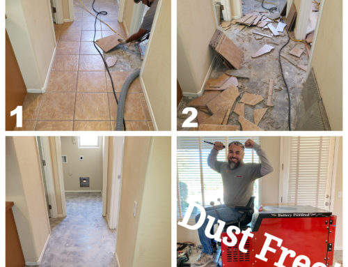 Best Dust Free Tile Removal Experts in Gilbert 480-969-3400