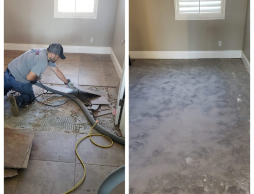 Professional Dust Free Tile Removal Service in Scottsdale 480-969-3400